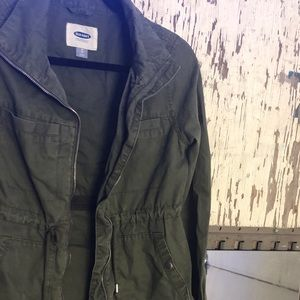 Old Navy Jackets & Coats - 🍐🍏CUTE ARMY GREEN UTILITY JACKET